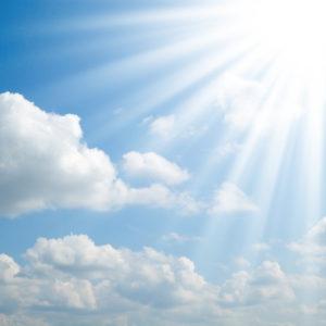 Eine Photovoltaikanlage erzeugt aus Sonnenlicht Energie