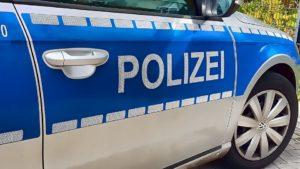 Wichtig: Polizei alarmieren