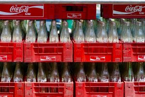 keine Getränkekisten im Auto lagern
