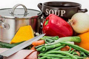 gesundes Essen vorkochen