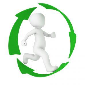 Mit Schrott den Recyclingkreislauf unterstützen